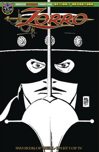 [Zorro: Swords Of Hell #1 (Toth Visions Of Zorro Limited Edition Cover) (Product Image)]