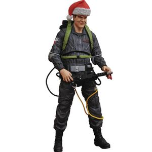 [Ghostbusters: Action Figure: Ray Stantz In Santa Hat (Product Image)]