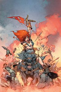 [Red Sonja #10 (Castro Virgin Variant) (Product Image)]