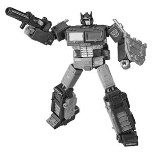[Transformers: War For Cybertron: Earthrise: Action Figure: Leader Optimus Prime With Trailer (Product Image)]