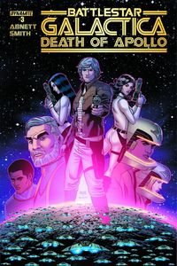 [Battlestar Galactica: Death Of Apollo #3 (Cover B Dietrich Smith) (Product Image)]