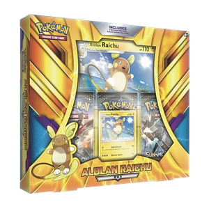 [Pokemon: Trading Card Game: Alolan Raichu Box (Booster Pack Set) (Product Image)]