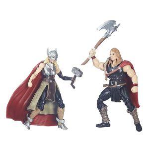 [Marvel Legends: Wave 1 Action Figure Comic 2 Packs: Defenders Of Asgard (Product Image)]