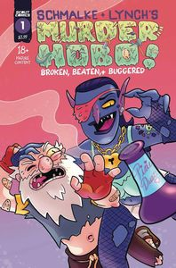 [Murder Hobo: Beaten, Broken & Buggered #1 (2nd Printing) (Product Image)]