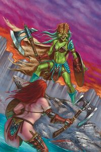[Mars Attacks/Red Sonja #5 (Strati Virgin Variant) (Product Image)]