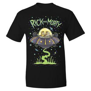 [Rick & Morty: T-Shirt: UFO (Product Image)]