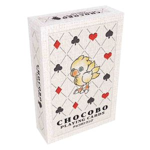 [Final Fantasy: Chocobo Playing Cards (Product Image)]