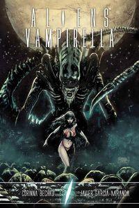 [Aliens Vampirella (Hardcover) (Product Image)]