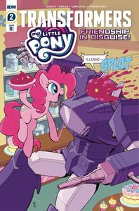 [My Little Pony/Transformers #2 (Coller Variant) (Product Image)]