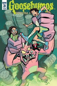 [Goosebumps: Monsters At Midnight #3 (Cover A Fenoglio) (Product Image)]