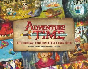 [Adventure Time: Original Cartoon Title Cards: Volume 1 (Hardcover) (UK Edition) (Product Image)]