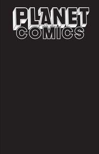 [Planet Comics: Sketchbook (One Shot) (Black Hole Edition) (Product Image)]