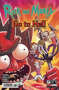 [Rick & Morty: Go To Hell #3 (Cover B Oroza) (Product Image)]