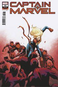 [Captain Marvel #32 (Garbett Variant) (Product Image)]