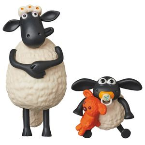 [Shaun The Sheep: UDF Mini Figure 2 Pack: Timmy & Timmy's Mum (Product Image)]