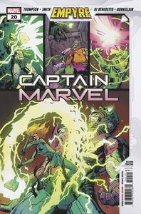 [Captain Marvel #20 (2nd Printing Variant) (Product Image)]