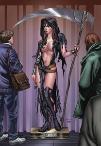 [Grimm Fairy Tales: Grimm Tales Of Terror: Volume 3 #12 (Cover C Santacruz) (Product Image)]