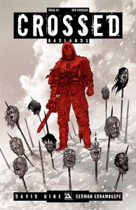 [Crossed: Badlands #43 (Red Crossed Variant) (Product Image)]
