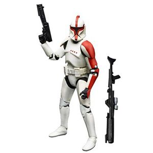 [Star Wars: Black Series: Action Figures: Episode II Clone Trooper Captain (6 Inch Version) (Product Image)]