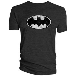 [DC: T-Shirts: Batman Classic Logo (Distressed Version) (Product Image)]
