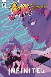 [Jem & The Holograms: Infinite #2 (Cover A Lee) (Product Image)]