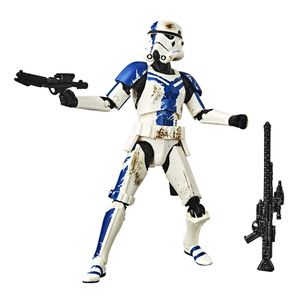 [Star Wars: The Force Unleashed: Black Series Action Figure: Stormtrooper Commander (Product Image)]