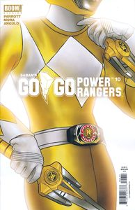 [Go Go Power Rangers #10 (Main & Mix Sg) (Product Image)]