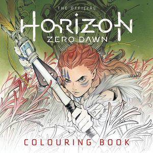 [Horizon Zero Dawn: Official Colouring Book (Product Image)]