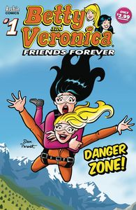 [Betty & Veronica: Friends Forever: Danger Zone #1 (Product Image)]