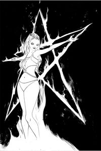 [Sacred Six #5 (Lee Black & White Virgin Variant) (Product Image)]