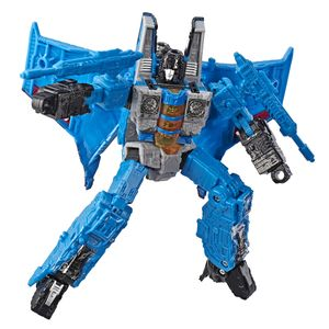 [Transformers: War For Cybertron: Voyager Action Figure: Thundercracker (Product Image)]