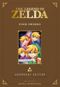 [The Legend Of Zelda: Volume 5: Four Swords (Legendary Edition) (Product Image)]