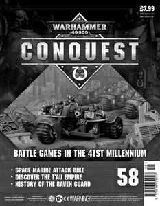 [Warhammer 40K: Conquest: Figurine Collection #58 (Product Image)]