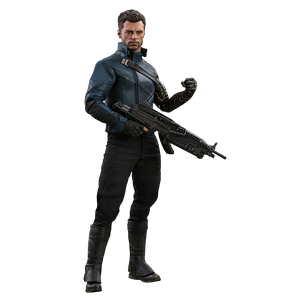 [The Falcon & The Winter Soldier: Hot Toys Action Figure: Winter Soldier (Product Image)]
