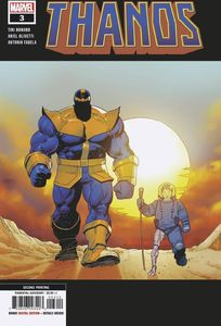 [Thanos #3 (2nd Printing Olivetti Variant) (Product Image)]