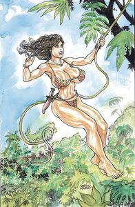 [Cavewoman (Double Feature One Shot Cover A Massey) (Product Image)]