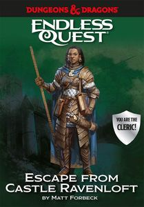 [Dungeons & Dragons: Endless Quest: Escape From Castle Ravenloft (Hardcover) (Product Image)]