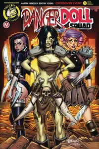 [Danger Doll Squad; Galactic Gladiators #1 (Cover E Mckay) (Product Image)]