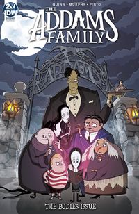 [The cover for Addams Family: The Bodies (Cover A Murphy)]