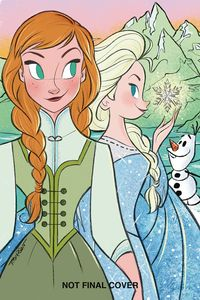 [Frozen: Breaking Boundaries #3 (Cover B Thompson) (Product Image)]
