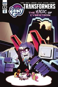 [My Little Pony/Transformers II #2 (Adam Bryce Thomas Variant) (Product Image)]