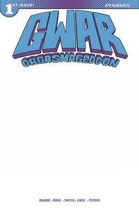 [GWAR: Orgasmageddon #1 (Cover G Blank Authentix) (Product Image)]