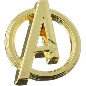 [Avengers: Pewter Lapel Pin: Avengers Logo (Product Image)]