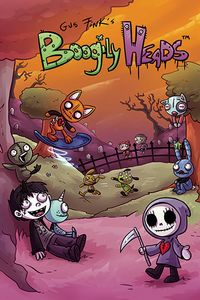 [The cover for Boogily Heads #1]