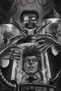 [Mars Attacks Red Sonja #4 (Strati Black & White Virgin Variant) (Product Image)]