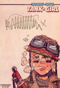 [Tank Girl: World War Tank Girl (Forbidden Planet Signed Mini Print Edition) (Product Image)]