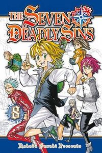 [The Seven Deadly Sins: Volume 8 (Product Image)]