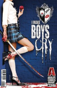 [The cover for I Make Boys Cry #1 (Cover A Tyndall)]