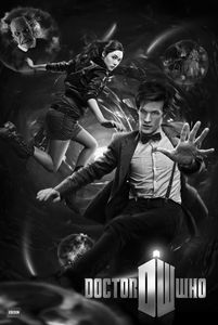 [Doctor Who: Poster: 11th Doctor Vortex (Product Image)]