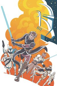 [Star Wars Adventures: Clone Wars #1 (Cover A Charm) (Product Image)]